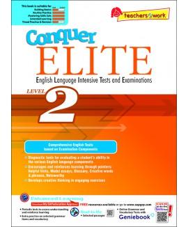 แบบทดสอบภาษาอังกฤษระดับประถมศึกษา 1 Conquer ELITE (English Language Intensive Tests and Examinations) Level 1