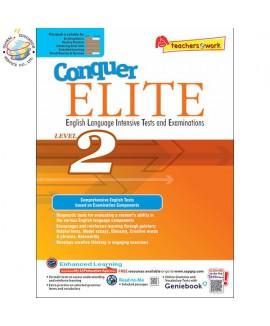 แบบทดสอบภาษาอังกฤษระดับประถมศึกษา 2 Conquer ELITE (English Language Intensive Tests and Examinations) Level 2