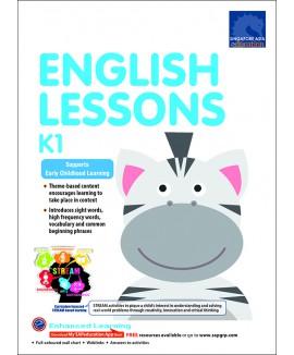 แบบฝึกหัดภาษาอังกฤษระดับอนุบาล English Lessons K1