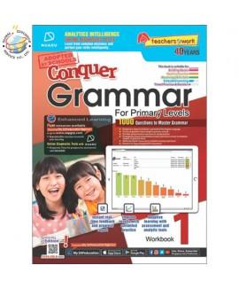 แบบทดสอบภาษาอังกฤษ ป. 1  Conquer Grammar For Primary Levels Workbook 1 + NUADU