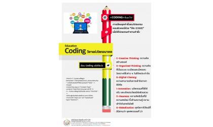 Coding & Robot's วิชาแห่งโลกอนาคต