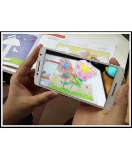 หนูน้อยเริ่มเรียน (3D AR Coloring Book)