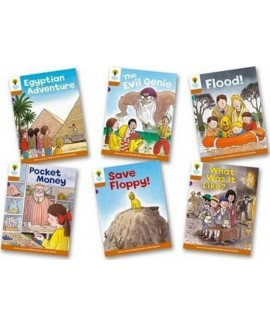 Oxford Reading Tree - Biff, Chip and Kipper Stories Level 8 More Stories A Mixed Pack of 6