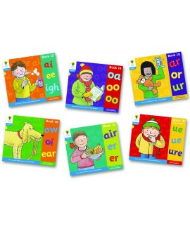 Oxford Reading Tree - Floppy's Phonics Level 3+ Mixed Pack of 6